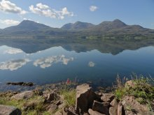Walks and photos.  [Image is:  'Loch Torridon'].